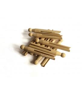 Drevené kolíky na prádlo (10ks)