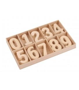 Drevené číslice