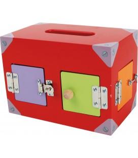 Box so zámkami