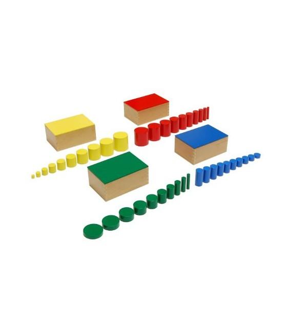 Farebné valčeky (4 krabičky)