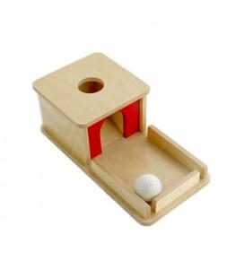 Krabička s táckou a guličkou