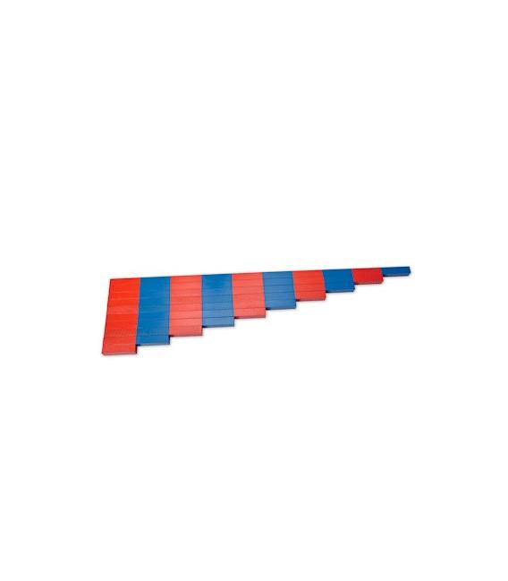 Červeno-modré tyče