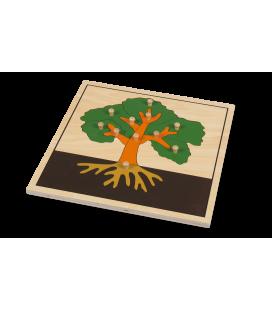 Montessori puzzle Strom