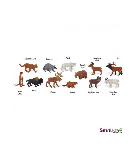 Zvieratá Severnej Ameriky, tuba Safari
