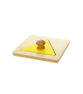 Montessori puzzle trojuholník