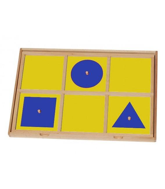 Úvodný rám ku geometrickej komode