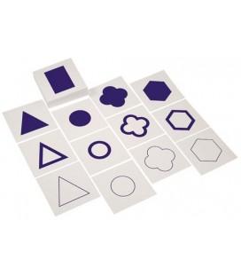 Karty ku geometrickej komode