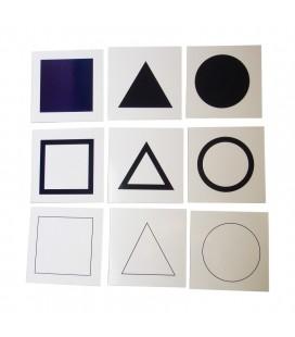 Karty k úvodnému rámu geometrickej komody
