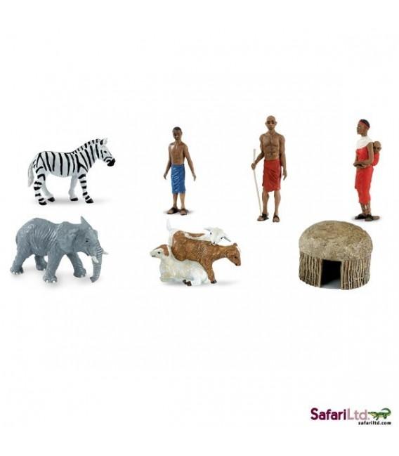 Africká osada, tuba Safari