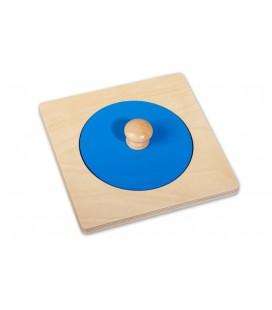 montessori puzzle kruh