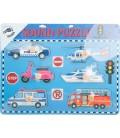 Zvukové puzzle dopravné prostriedky