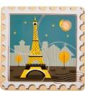 Mini puzzle známe stavby sveta