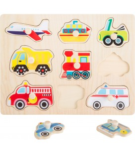 Puzzle dopravné prostriedky