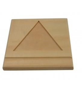 Trojuholníková podložka na perlové korálky