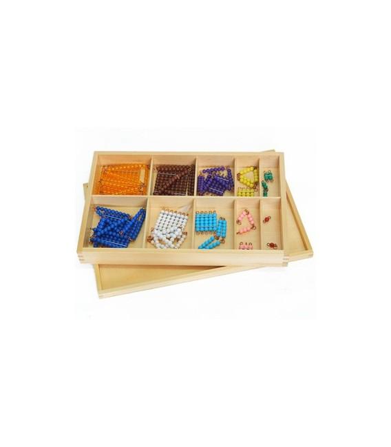 Krátke reťaze so štvorcami v krabičke