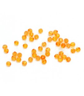 45 ks zlatých korálikov jednotiek