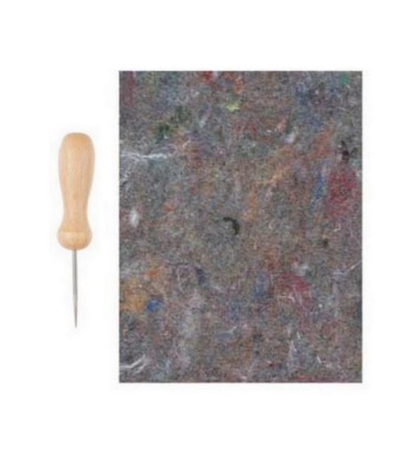 Bodec s filcovou podložkou na dierovanie