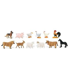 Zvieratá na farme, tuba Safari