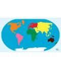 Podložka mapa sveta