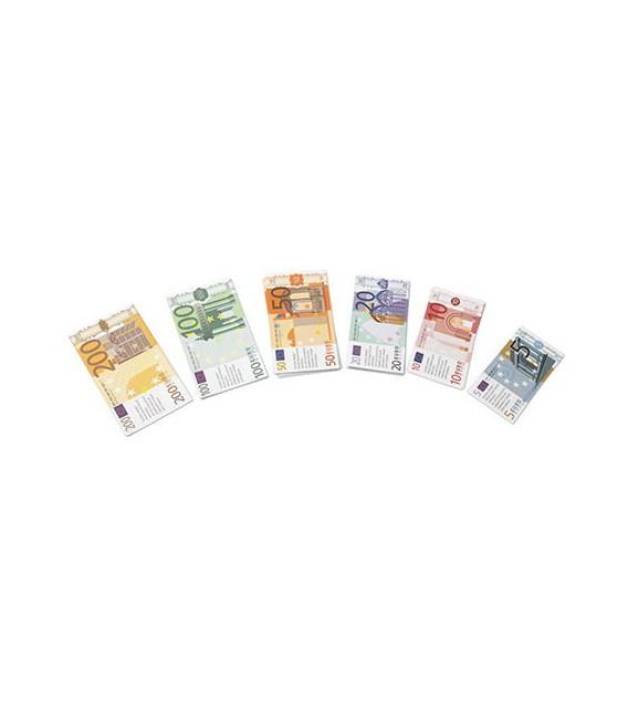 Euro bankovky, detské peniaze