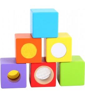 Zmyslové kocky (6 ks)