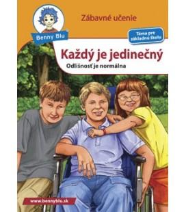Náučná knižka Každý je jedinečný