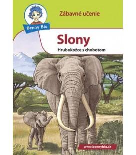 Náučná knižka Slony