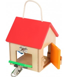 Malý domček so zámkami