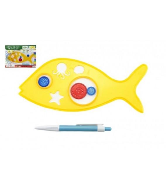Spirograf Ryba