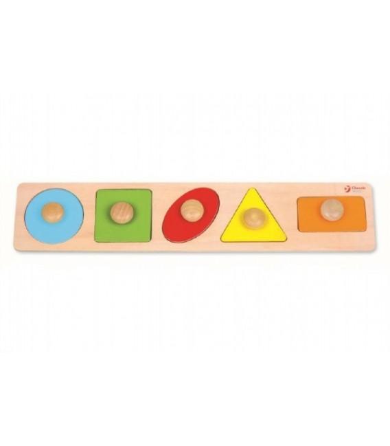 Vkladačka 5 geometrických tvarov
