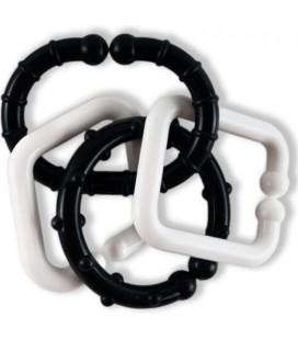 Čiernobiele tvary RETRO