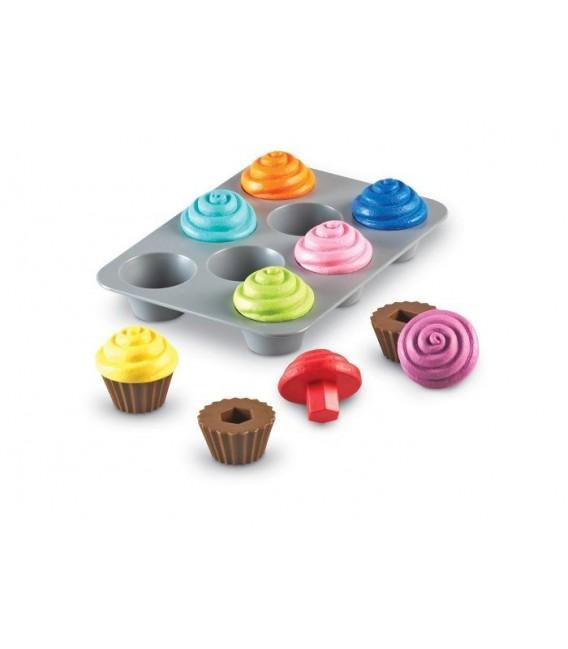 Muffiny, spájanie tvarov