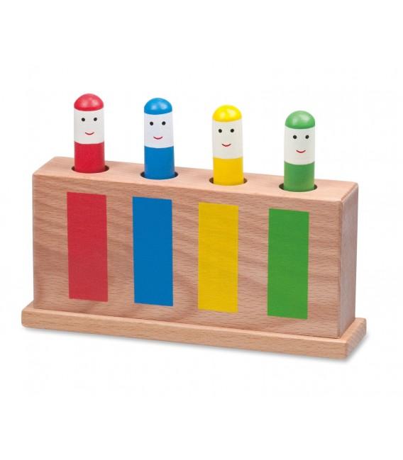 Vyskakovacie kolíky farební panáčikovia