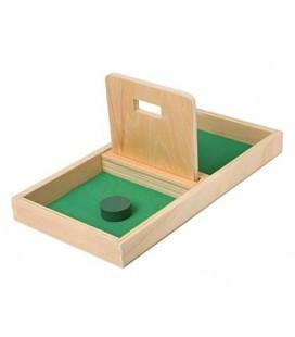 Montessori podnos s obdĺžnikovým otvorom