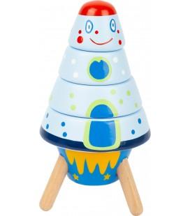 Navliekacia veža vesmírna raketa