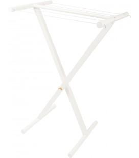 Sušiak na prádlo biely