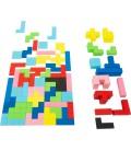 Tetris drevené puzzle