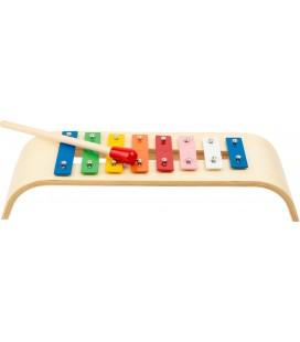 Xylofón, prírodné drevo