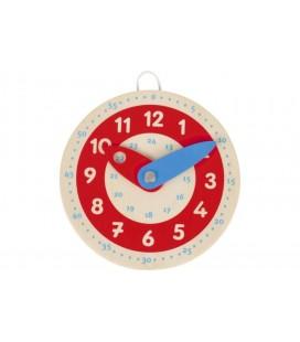 Drevené hodinky 10 cm