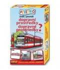 Pexetrio Poznáš dopravné prostriedky?
