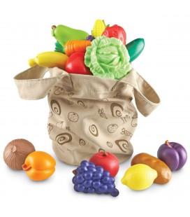 Taška plná ovocia a zeleniny