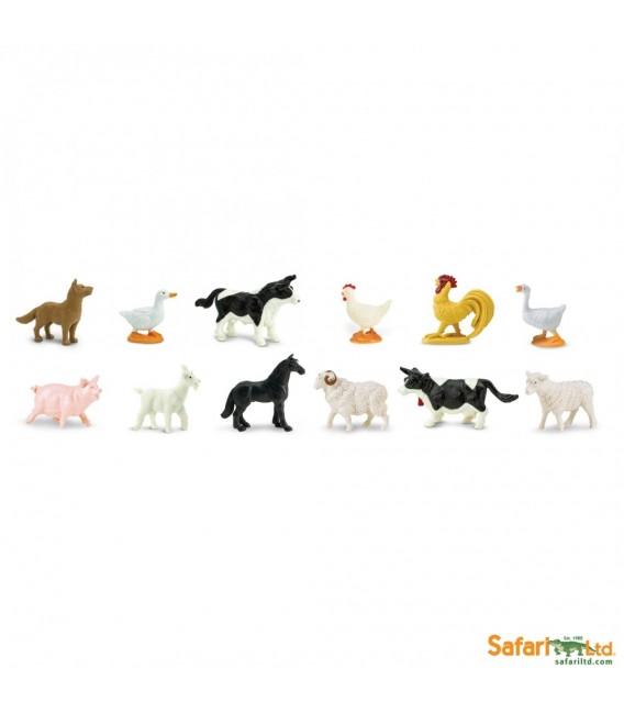 Zvieratá na farme, vrecko Safari
