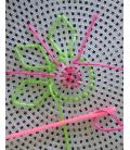 Plastová mriežka na vyšívanie