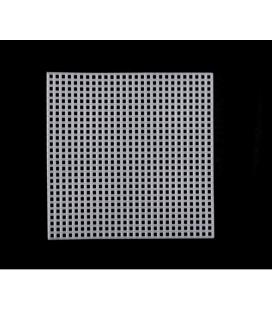 Plastová mriežka na vyšívanie, štvorcová