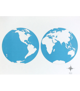 Obrysová mapa sveta (bez popiskov)