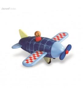 Lietadlo, drevená magnetická skladačka