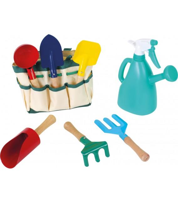 Záhradné náradie v taštičke pre deti