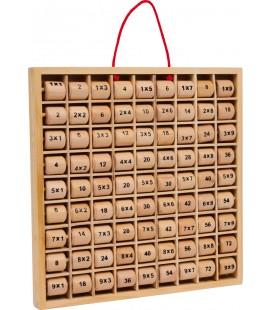 Násobilková tabuľka s valčekmi
