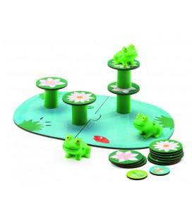Žabky na leknách - spoločenská hra pre najmenších