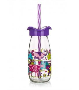 Fľaška na smoothie Violet